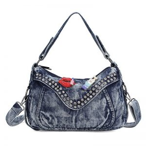 Denim Hobo Handbag