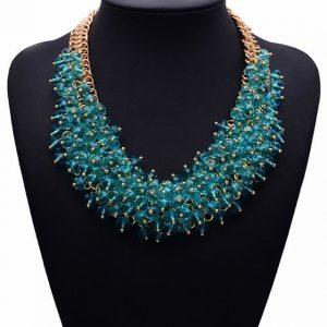Collar Bib Necklace
