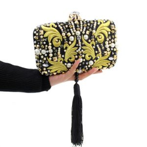Evening Clutch With Chain