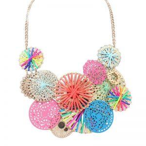 Flowers Choker Necklace
