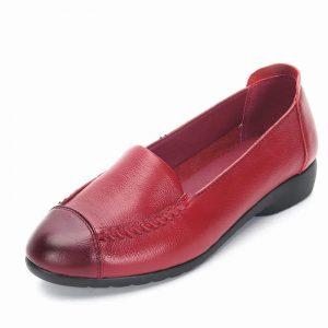 Loafers With Rounded Toe