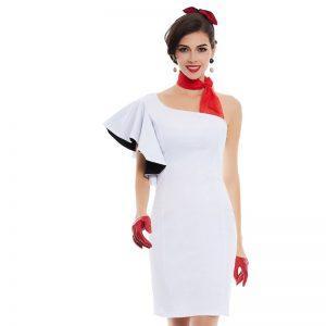 Pencil White Dress