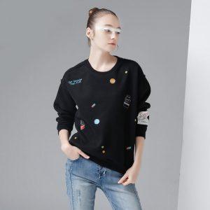 Long O-Neck Sweatshirt