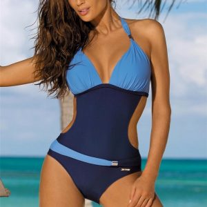 One Piece Swimsuit With Cutout