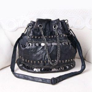 Punk Bucket Handbag