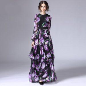 Runway Tiered Maxi Dress